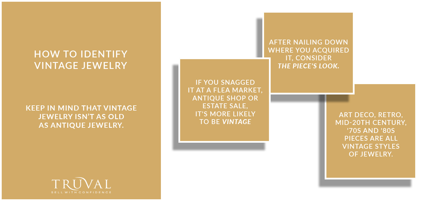 Steps to Determine the Value of Your Vintage Jewelry