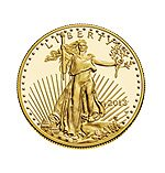 2013 - 1 ounce American Gold Eagle Coin
