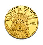 Gold Liberty 1 ounce Coin