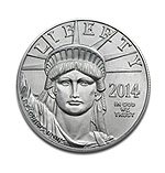 2014 1 Ounce Platinum Liberty Coin