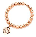 return to tiffany gold jewelry bracelet